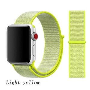 Accessories - ❤️NEW Neon Yellow Sport Loop Strap For Apple Watch